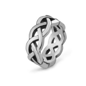 Celtic Knotwork Stainless Steel Ring 9367